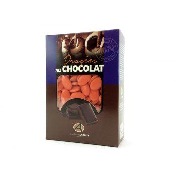 Dragées chocolat brillant coquelicot 1Kg