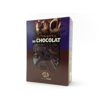 Dragées chocolat brillant chocolat 1Kg