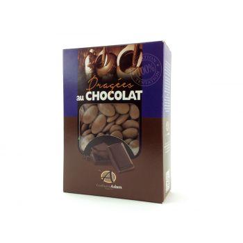 Dragées chocolat brillant taupe 1Kg