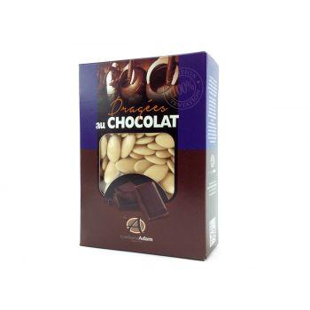 Dragées chocolat brillant écru1Kg