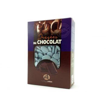 Dragées chocolat brillant lavande 1Kg