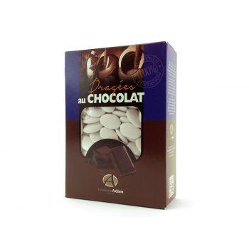 Dragées chocolat brillant blanc 1Kg