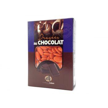 Dragées chocolat brillant oranger 1Kg