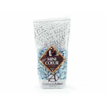 Dragées mini coeur chocolat brillant Lavande 250gr