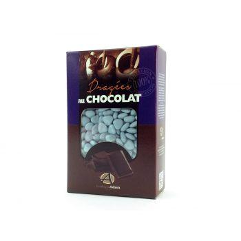 Dragées mini coeur chocolat brillant Lavande 500gr