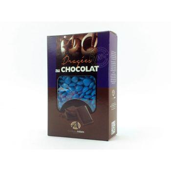 Dragées mini coeur chocolat brillant Outre mer 500gr