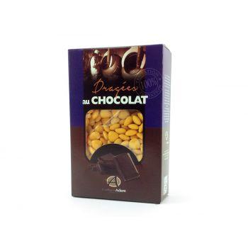 Dragées mini coeur chocolat brillant Jaune Mimosa 500gr