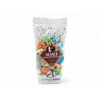 Dragées amandes Alsace multicolore 250gr