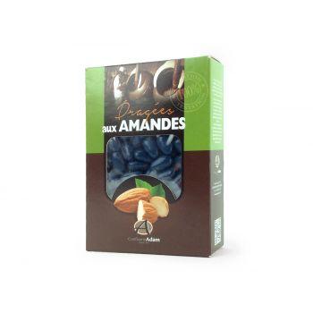 Dragées amandes Alsace bleu marine 1KG