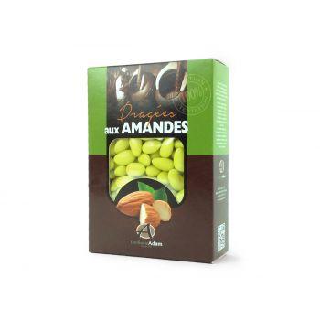 Dragées amandes Alsace vert lime 1KG
