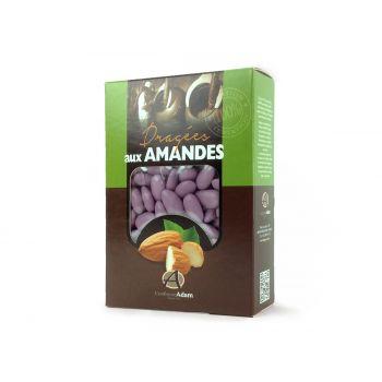 Dragées amandes Alsace lilas 1KG