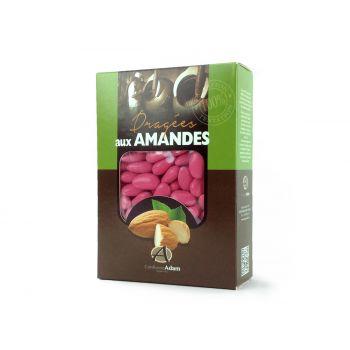 Dragées amandes Alsace rose pourpre 1KG