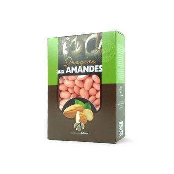 Dragées amandes Alsace corail 1KG