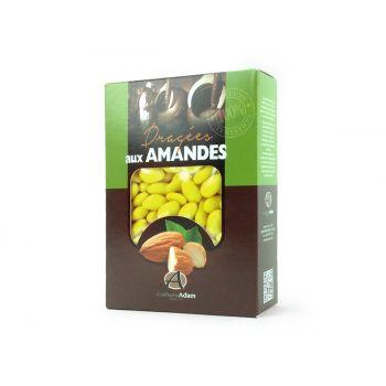 Dragées amandes Alsace bouton d'or 1KG