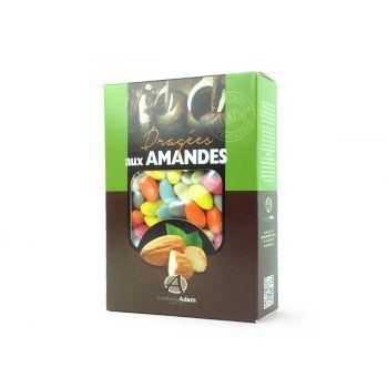 Dragées amandes Alsace multicolore 1KG
