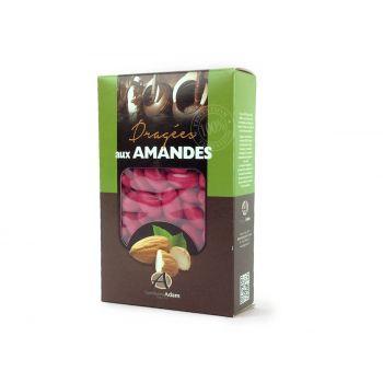 Dragées amandes Alsace framboise 500gr