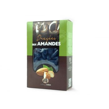 Dragées amandes Alsace bleu marine 500gr