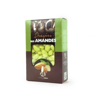 Dragées amandes Alsace vert lime 500gr