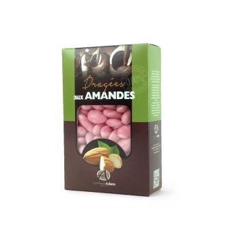 Dragées amandes Alsace rose nacré 500gr