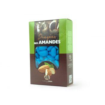 Dragées amandes Alsace turquoise 500gr