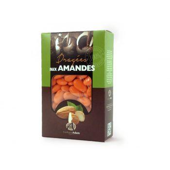 Dragées amandes Alsace capucine 500gr