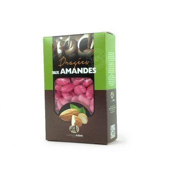 Dragées amandes Alsace rose pourpre 500gr