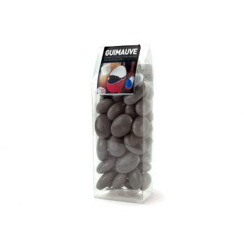 Dragées guimauve gris tubos 150gr