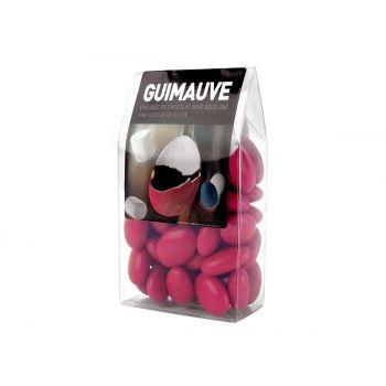 Dragées guimauve framboise tubos 150gr
