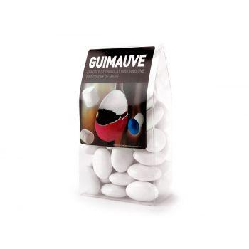 Dragées guimauve coeur blanc tubos 150gr