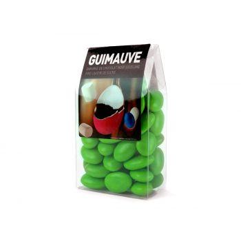 Dragées guimauve vert anis tubos 150gr