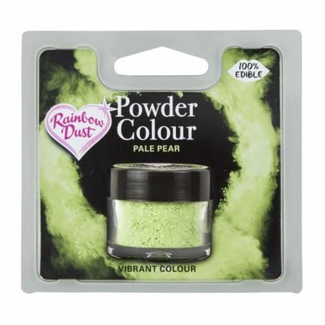 Colorant alimentaire 100% comestibles en poudre poire pâle de la marque Rainbow dust Le colorant en poudre sert à peindre sur tous vos...