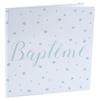 Livre d'or Baptème mint
