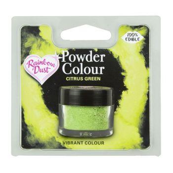 Colorant alimentaire en poudre citron vert