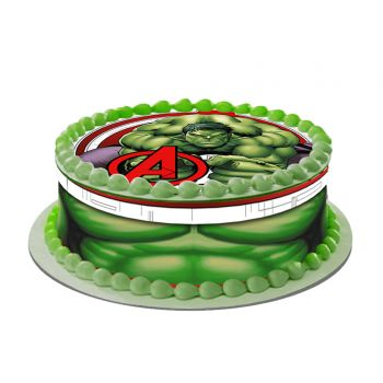 Kit Easycake decor Hulk