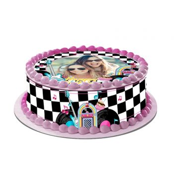 Kit Easycake pour gâteau personnalisé Années 50