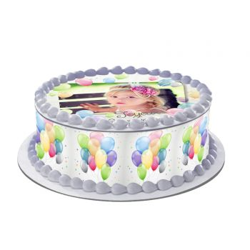 Kit Easycake pour gâteau personnalisé Ballons