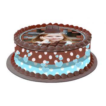 Kit Easycake pour gâteau personnalisé Chocolat