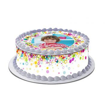 Kit Easycake pour gâteau personnalisé Color Pop