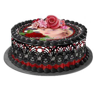 Kit Easycake pour gâteau personnalisé Romance