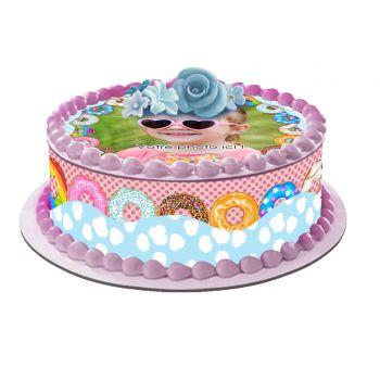 Kit Easycake pour gâteau personnalisé Donuts