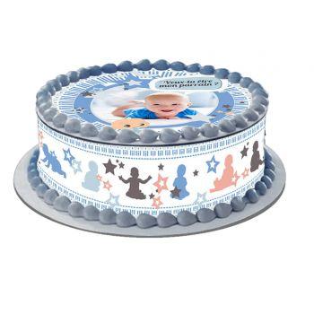Kit Easycake pour gâteau personnalisé Parrains