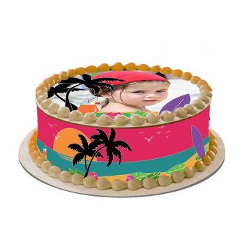 Kit Easycake pour gâteau personnalisé Hawaï