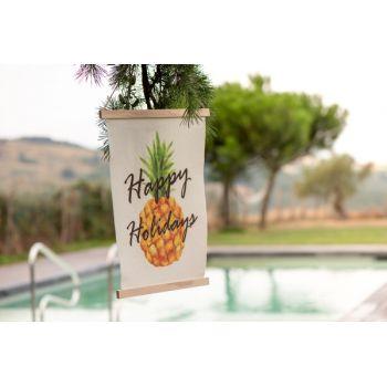 Pancarte fanion ananas