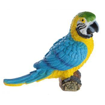 Perroquet en résine