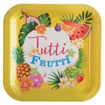 10 Assiettes Tutti frutti