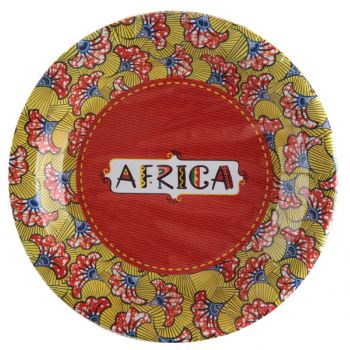 10 Assiettes Afrique