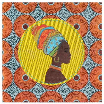 20 Serviettes Afrique
