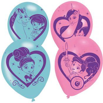 6 Ballons Nella princesse chevalier