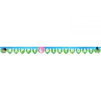 Banderole happy birthday Nella princesse chevalier