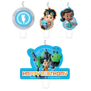 4 Bougies Rusty rivets